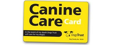 Canine Care Card